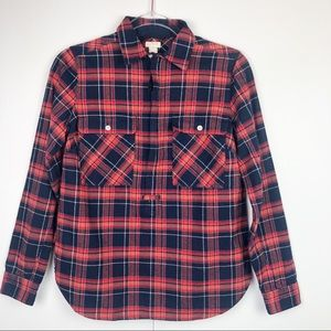J.Crew Plaid Pocket Shirt
